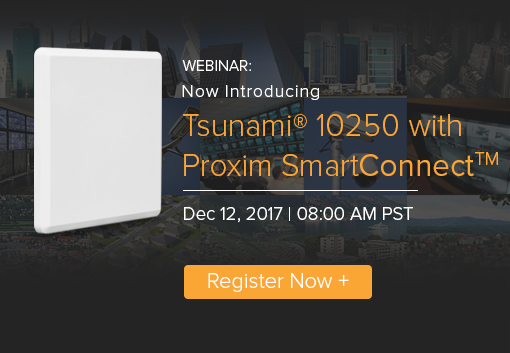 Webinar: Now Introducing the Tsunami® 10250 with SmartConnect