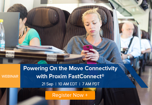 Webinar: Powering On the Move Connectivity with Proxim FastConnect®