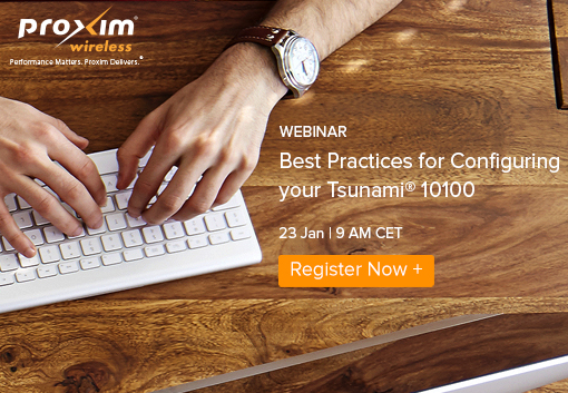Webinar: Best Practices for Configuring your Tsunami® 10100