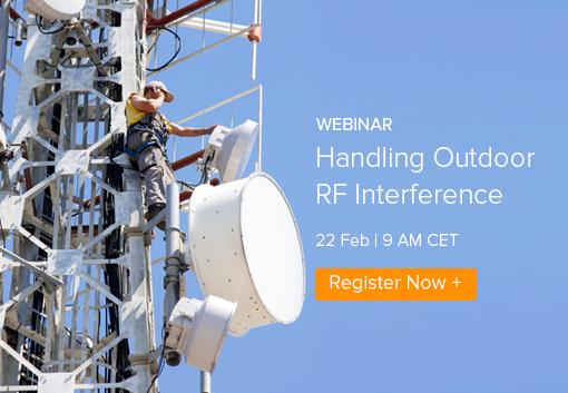 Webinar: Handling Outdoor RF Interference
