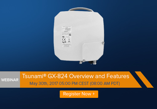 Tsunami® GX-824 Overview and Features